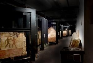 Depositi Museo Archeologico nazionale Paestum (foto Francesco Valletta)